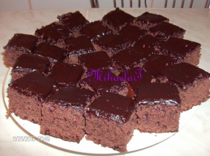 Retete Negresa De Post Cu Glazura De Ciocolata