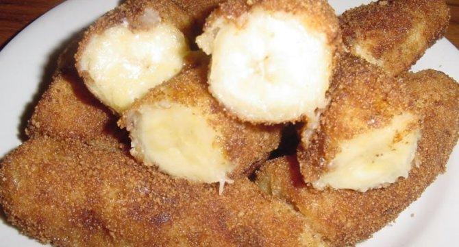 Banana Milanesa