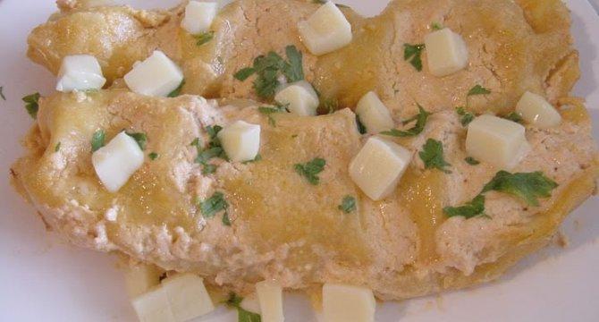 Cannelloni cu ciuperci