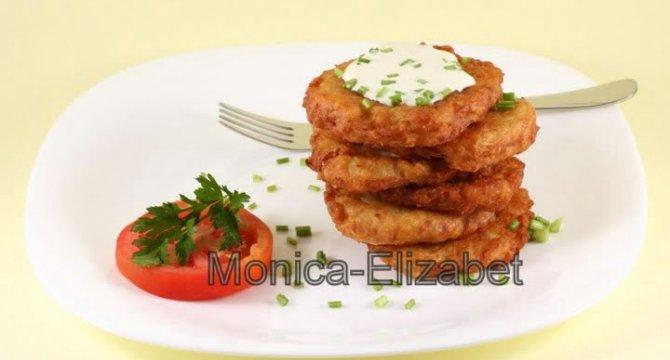 Clatite de cartofi - Patatoes Pancakes