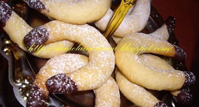 Kipferl cu vanilie