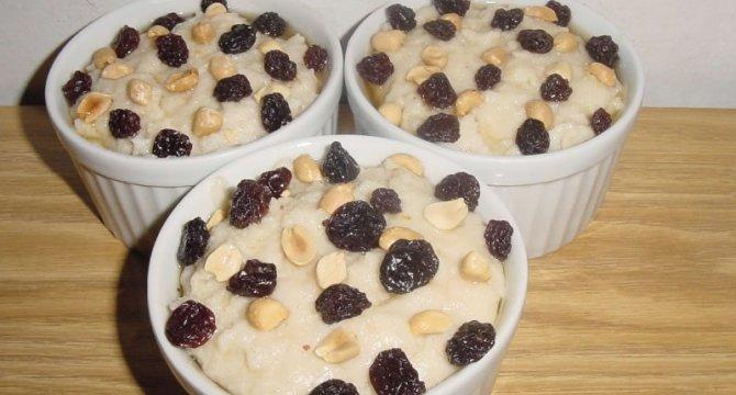 Mouhalabya - budinca din faina de orez