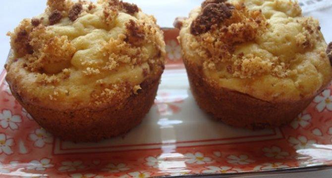 Muffins cu biscuiti