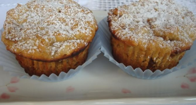 Muffins cu branza si smochine