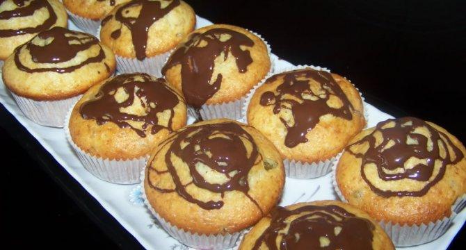 Muffins cu zitrone-lamaie zaharisita