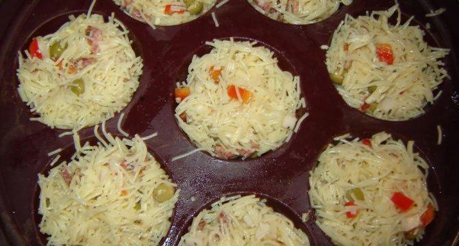 Muffins cuib de randunica