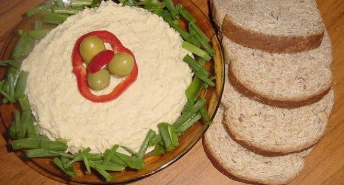 Pasta din naut-Hummus