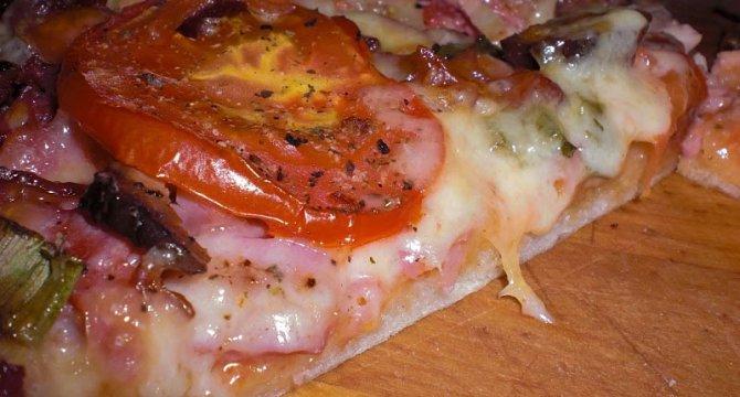 Pizza din resturi