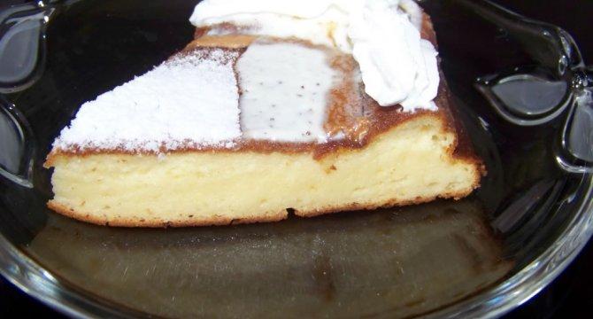Prajitura cu branza dulce -Kasekuchen