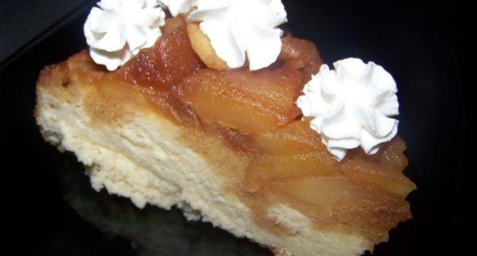 Prajitura cu mere caramelizate
