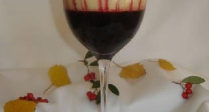 Sabayon - spuma de vin cu fructe de padure
