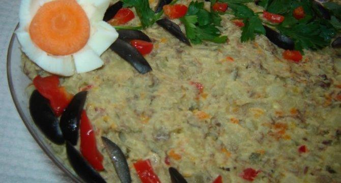 Salata cu piept de gasca