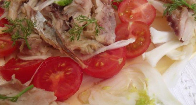 Salata de fenicul cu peste