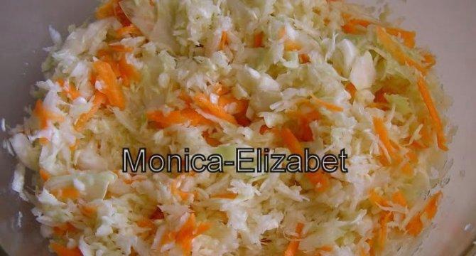 Salata de varza alba si morcov