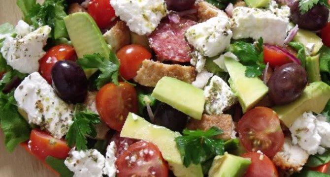 Salata din resturiSalata din resturi