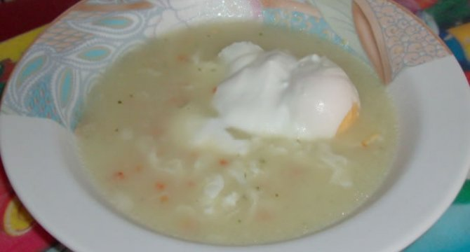 Supa de oua