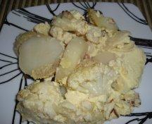 Conopida cu cartofi la cuptor