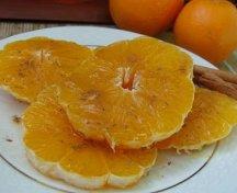 Felii de portocala cu scortisoara si miere