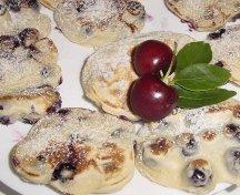 Mini pancakes cu fructe