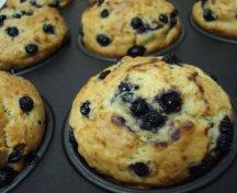 Muffins cu afine - varianta light