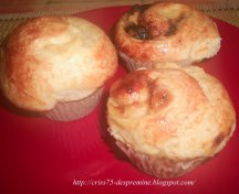 Muffins Trandafiri