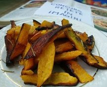 Pumpkin fries - dovleci pai
