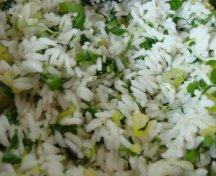 Sabzi Polou - Orez iranian cu ierburi proaspete