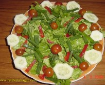 Salata cu creveti pane