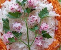 Salata cu ridiche si morcov
