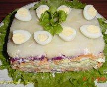 Salata de cruditati in straturi
