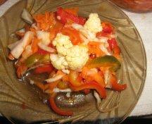 Salata de cruditati - la borcan
