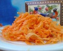 Salata de morcovi - persana