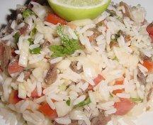 Salata de orez si anchoa