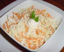 Salata de varza cu morcov si smantanaSalata de varza cu morcov si smantana