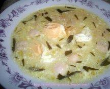 Supa de oua cu smantana
