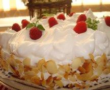 Tort cu zmeura 1