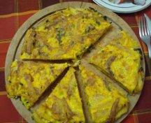 Tortilla cu cartofi prajiti