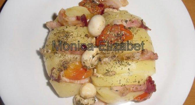Acordeoane din cartofi