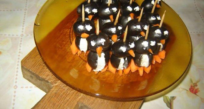 Aperitiv pinguini