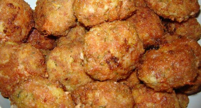 Chiftele din carne de porc