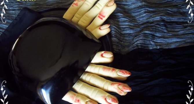 Degetele vrajitoarei - Dita della strega