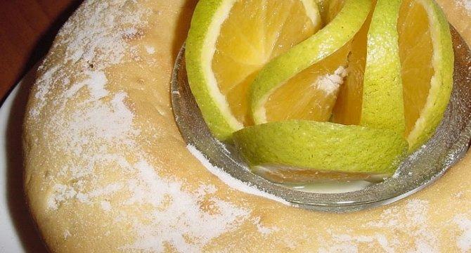 Guguluf - chec aromat cu portocale