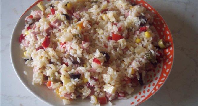 Insalata di riso - Salata de orez