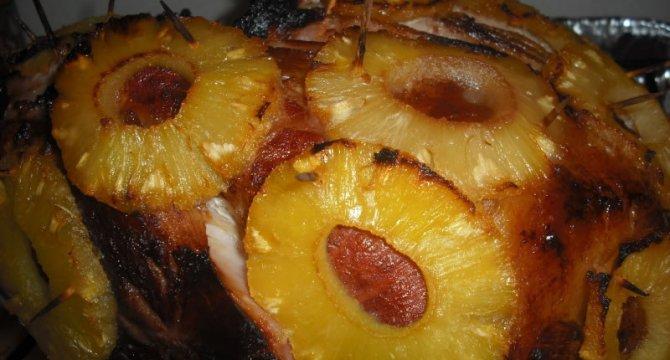 Jambon cu ananas
