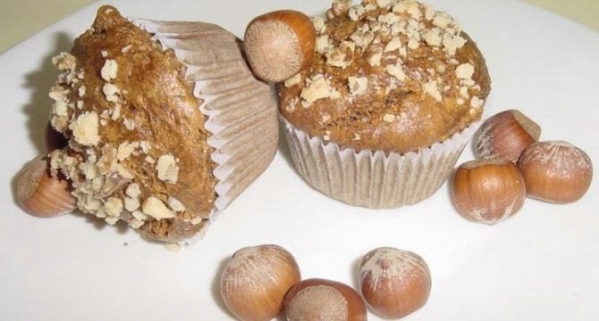 Muffins cu banane si nuci