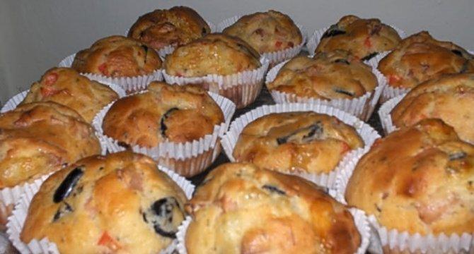 Muffins pizza