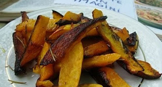 Pumpkin fries - dovleci pai