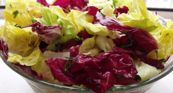 Salata cu radicchio