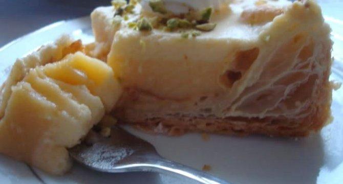 Tarta cu crema de portocale