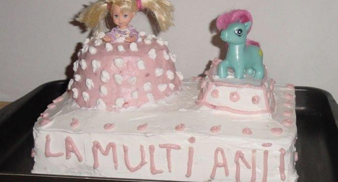 Tort Barbie si poneiul